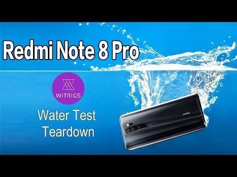Redmi Note 8 Pro Waterproof Test