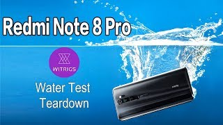 Redmi Note 8 Pro Waterproof Test