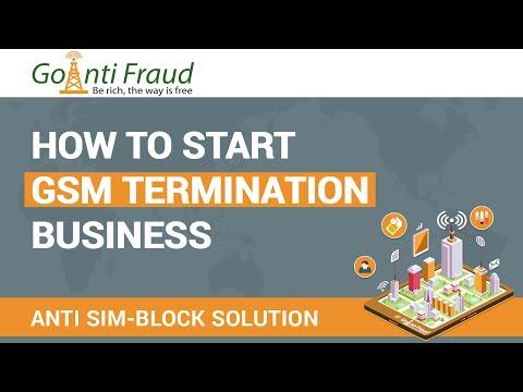 GoAntiFraud: How to Start a VoIP GSM Termination Business