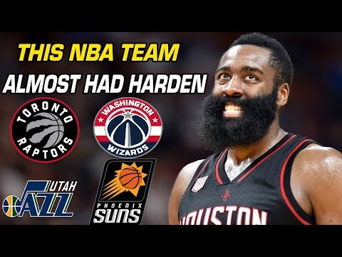 The NBA Teams James Harden Was Almost Traded to in 2012