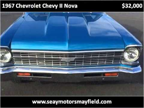 1967 chevrolet chevy ii nova used cars mayfield ky youtube for Seay motors mayfield ky