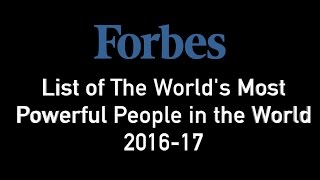 Forbes list of The World
