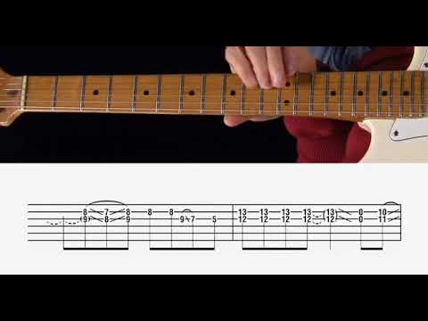 Zz Top Sharp Dressed Man Guitar Lesson Chords Youtube