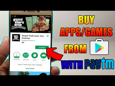 How To Buy Apps On Playstore With PAYTM 2018