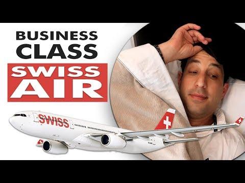 SWISS AIR Business Class - LAX to Zurich