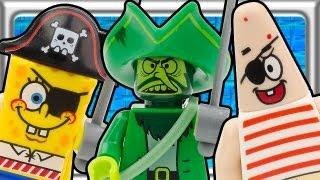 Lego Spongebob The Flying Dutchman Build Review 3817