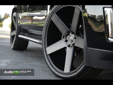 Cadillac Escalade 2015 On 26 Quot Dub Wheels Youtube