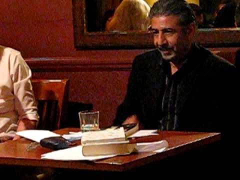 Margaret Obank and Amjad Nasser poetry reading.avi