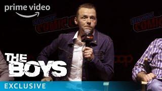 The Boys - NYCC 2018: Simon Pegg Reveal | Prime Video