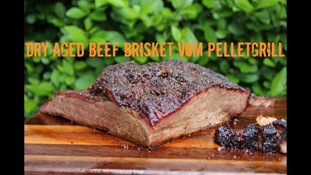 Fantastisches Dry Aged Beef Brisket Vom Pelletgrill