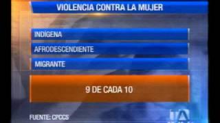 En Ecuador las cifras de violencia contra la mujer son alarmantes