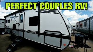 EXTREMELY nice Couples Travel Trailer RV! Jayco Jay Feather 24RL! Video