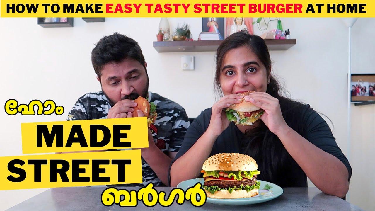 Home Made Street Burger - Vlog# 230
