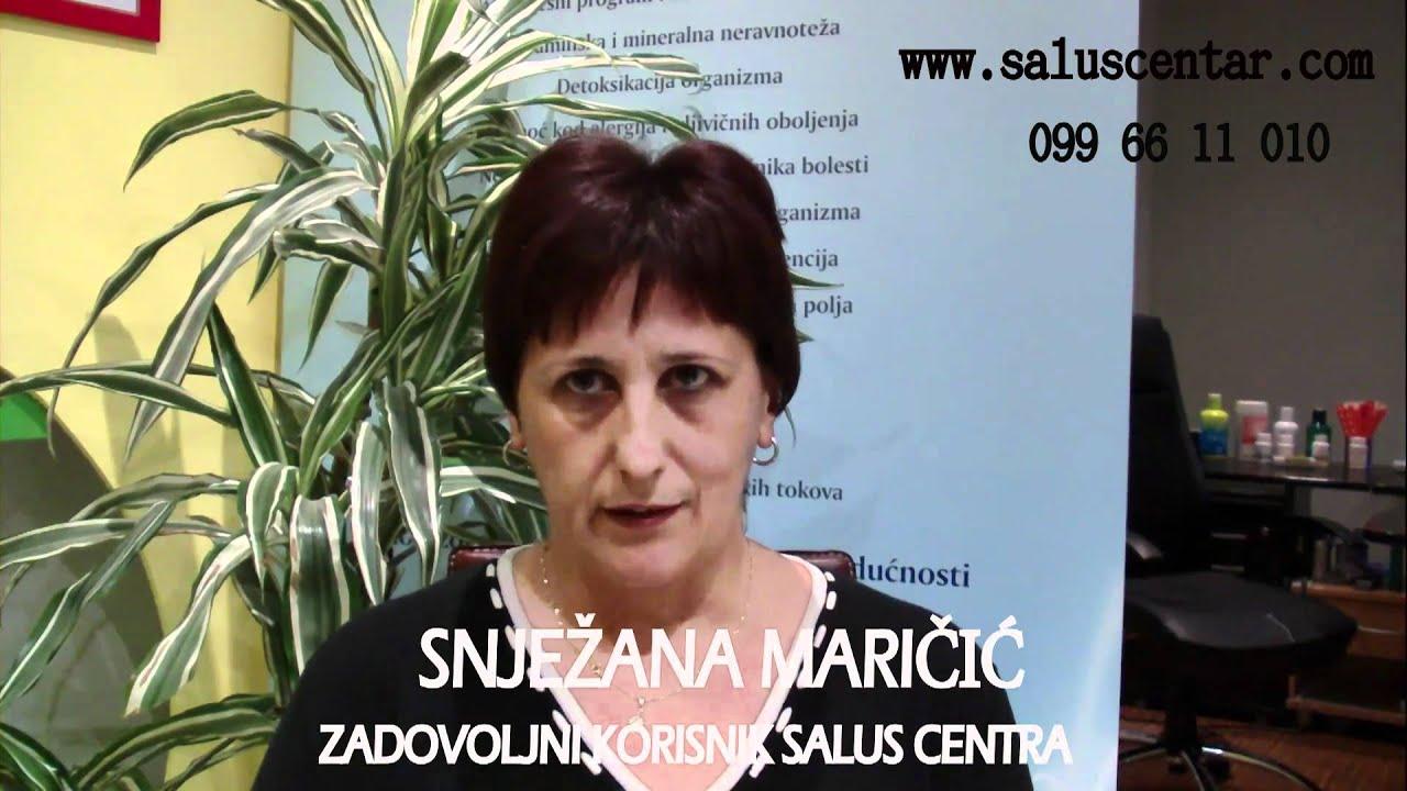 Download TRETMANI MRŠAVLJENJA - ZADOVOLJAN KORISNIK - SNJEŽANA MARIČIĆ www.saluscentar.com