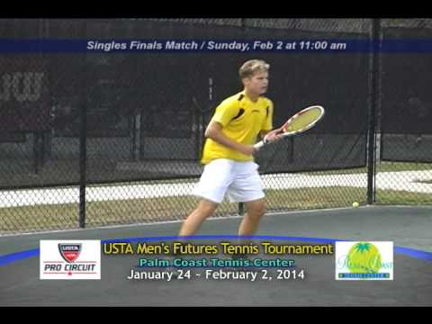 2014 USTA Pro Circuit Palm Coast Tennis Center Qualifying Rounds Highlight Reel