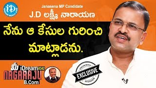 Janasena Leader JD Lakshminarayana Exclusive Interview || మీ iDream Nagaraju B.Com #342