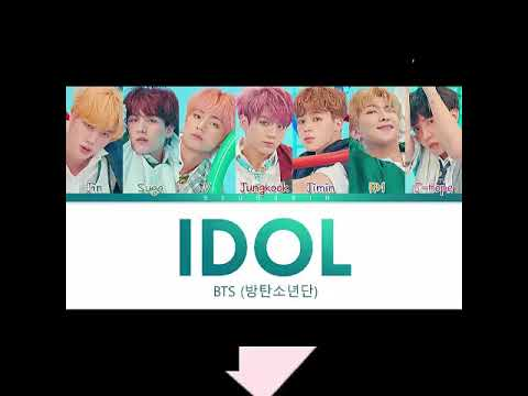 BTS (방탄소년단) IDOL Mp3 Download