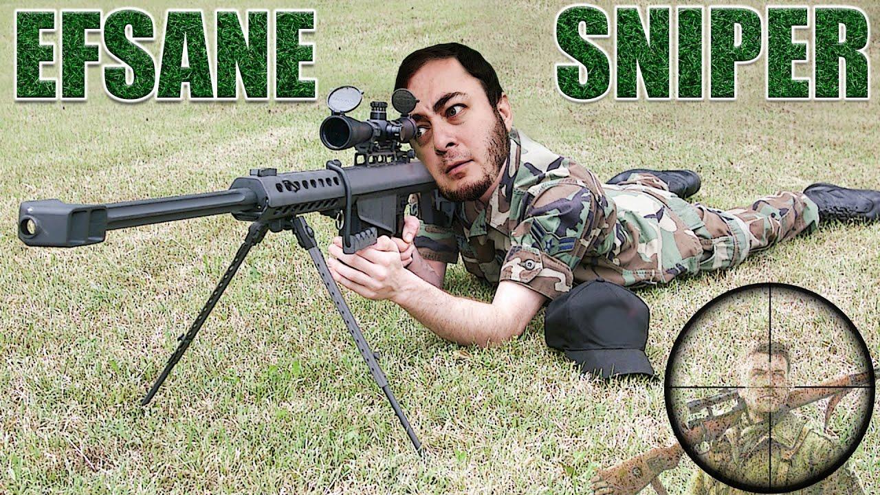 Sniper Olunmaz! Sniper Doğulur! HİÇ ISKALAMAYAN SNIPER!