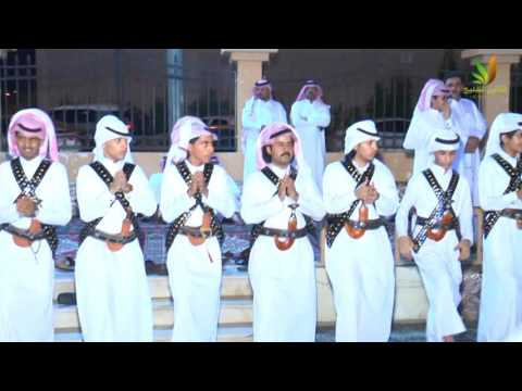 حفل زواج سعود عبدالمحسن حمدي الزايدي . الجزء2  الملعبة -الصفوف والزير والشعار