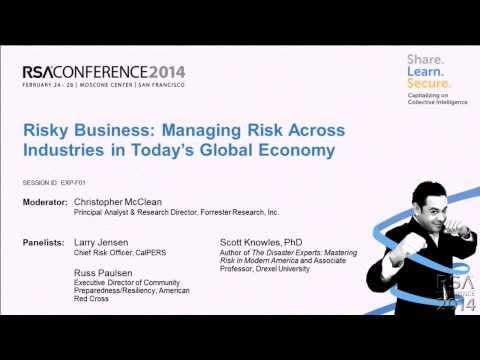 Risky Business: Managing Risk across Industries in Today's G