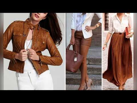 Сочетание коричневого цвета в одежде / The Combination Of Brown In Clothes