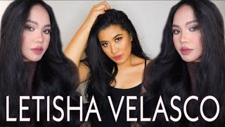 I tried following a LETISHA VELASCO's make-up tutorial | PALABAN LOOK