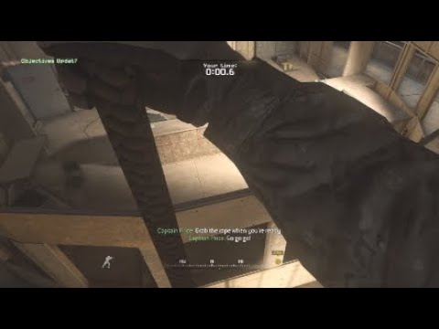 """Call Of Duty: Modern Warfare Remastered Campaign Level 1 """"FNG"""""""