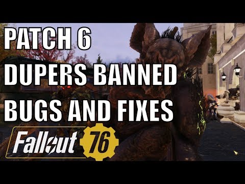 Fallout 76: Dupers Got Banned - Patch 6 Fixes & New Bugs Introduced thumbnail