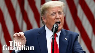 Donald Trump announces US plans to sever all ties with WHO