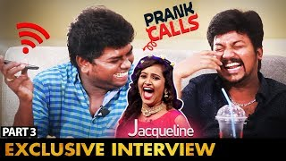 """Next Heroine Chance"" சிரிக்க வைக்கும் Prank Call with Jacquline | KPY Winners Azhar & TSK Interview"