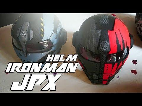 Model Terbaru JPX Helmet | Ada Helm Ironman | vlog