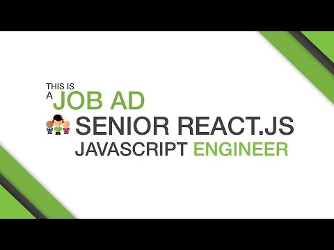 SYDNEY'S LOOKING FOR - Senior React.JS Javascript Engineer