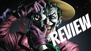 The Killing Joke Review (Batman: The Killing Joke DC Animated Movie Review)