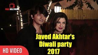 Farah khan Javed Akhtar And Shabana Azmi Diwali Party 2017