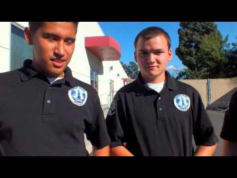 Buena Park Police Explorers OCLEEAA 2013
