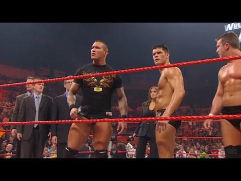 Randy Orton threatens to sue WWE: Raw, Jan. 26, 2009
