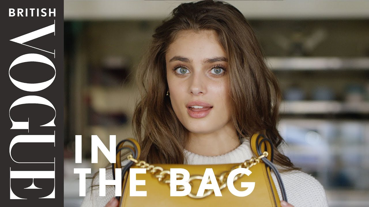 taylor hill in the bag episode 1 british vogue youtube. Black Bedroom Furniture Sets. Home Design Ideas