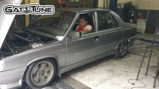 Renault 9 1.4 8v TURBO dyno