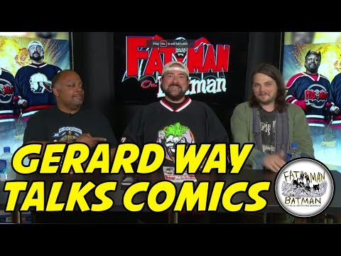 GERARD WAY TALKS COMICS