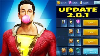 Injustice 2 Mobile. Update 2.8.1 Review. SHAZAM! One New Character and Ton of Old Bugs...