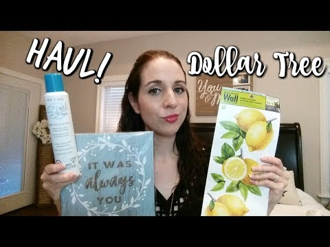 DOLLAR TREE HAUL! 5-24-18