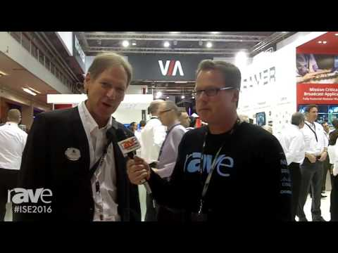 ISE 2016: Gary Kayye Interviews Aviv Ron, VP of Business Development and Strategy, at Kramer