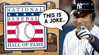 The MLB Hall Of Fame Is Becoming A JOKE... (rant)