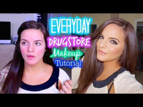 Everyday Makeup Tutorial Using DRUGSTORE MAKEUP | My Favorite Products & Tips | Casey Holmes