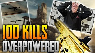 The most OVERPOWERED Class! [100 Kills Easy] - (COD: Modern Warfare)