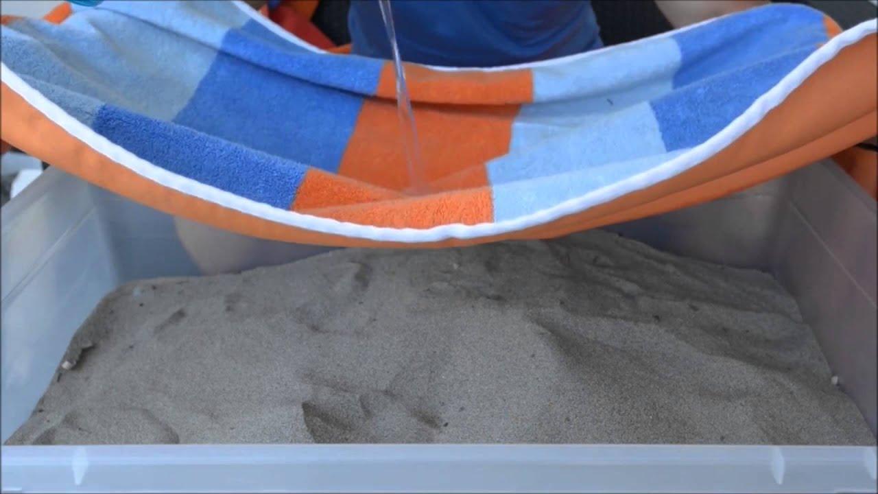 Serviette De Plage Pas De Sable.Serviette De Plage Anti Sable Et Waterproof Combine Baglif Et Sandusa