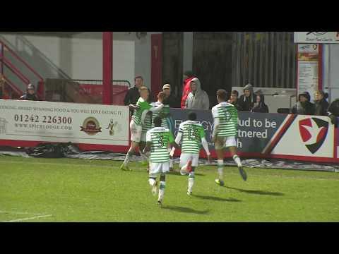 Highlights | Cheltenham Town 0-2 Yeovil Town