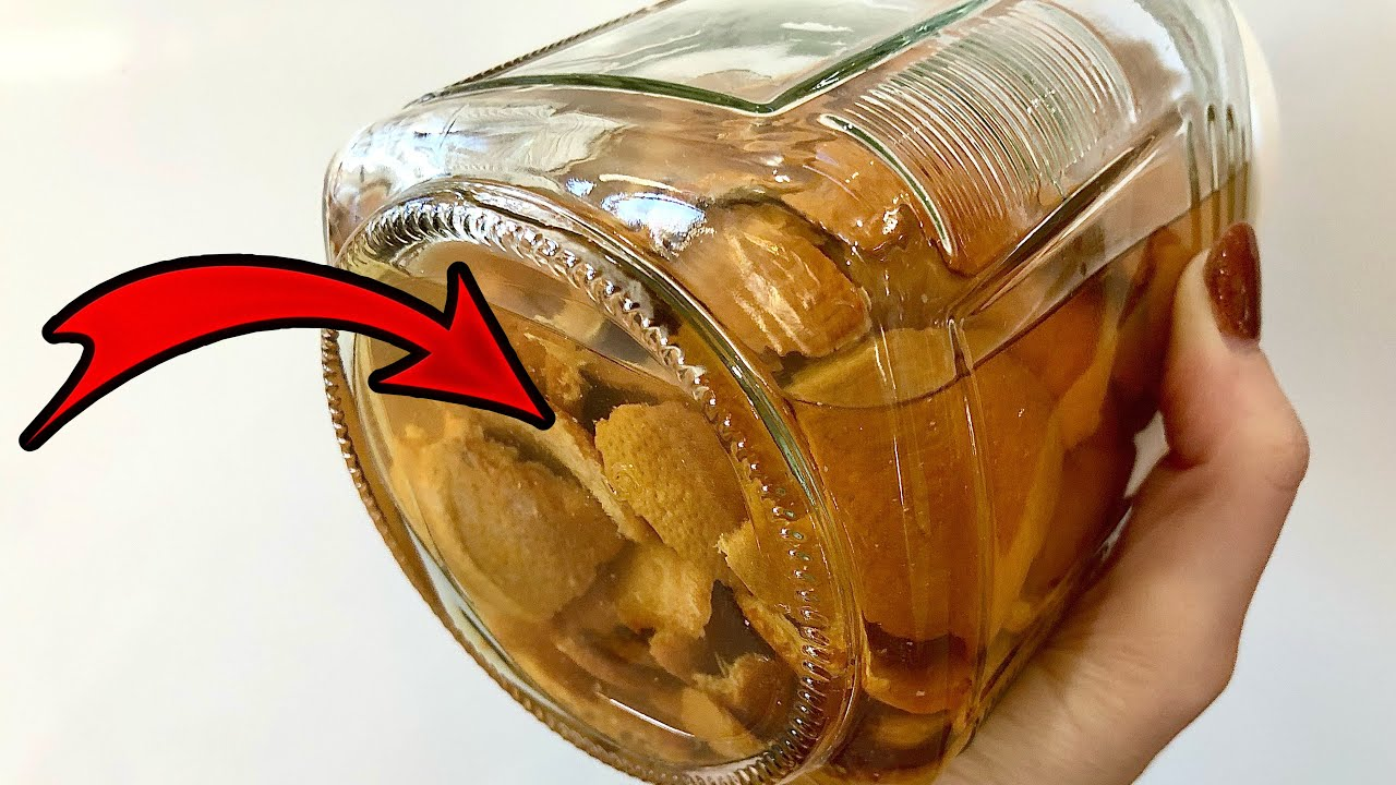 You Will Never Throw Away Orange Peels After WATCHING THIS!! 🍊
