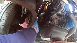 Démontage distri et pompe à eau Citroën Saxo Peugeot106  moteur TU