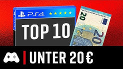 TOP 10 ► PS4 Spiele unter 20 Euro - 2020 Edition